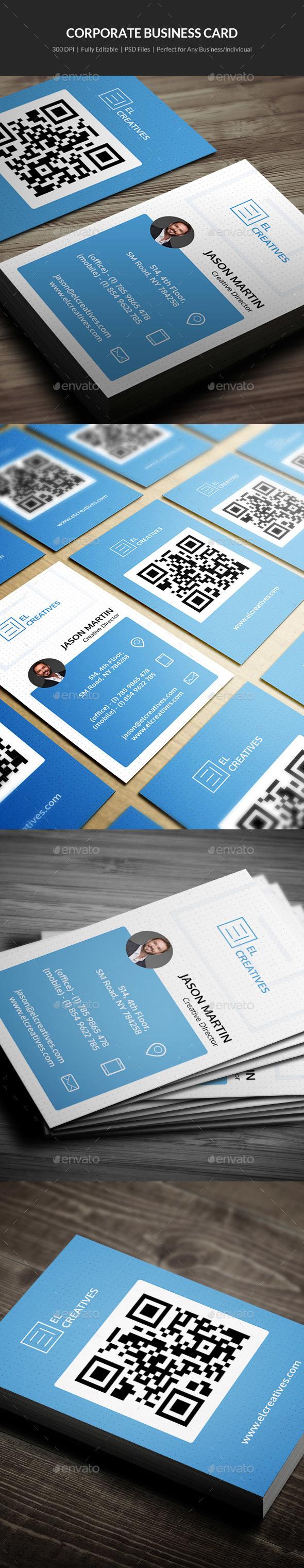 Corporate Business Card - 04 - Corporate Business Cards