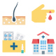 150+ Health and Medical Color Vector Icons Pack