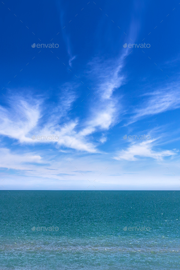 Amazing sea and sky - Stock Photo - Images