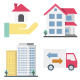 100 Real Estate Color Vector Icons - GraphicRiver Item for Sale