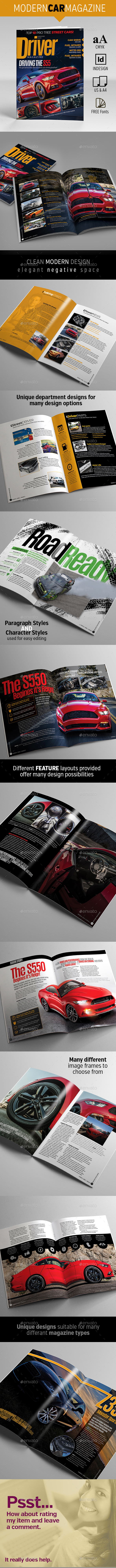 Driver Magazine - Magazines Print Templates