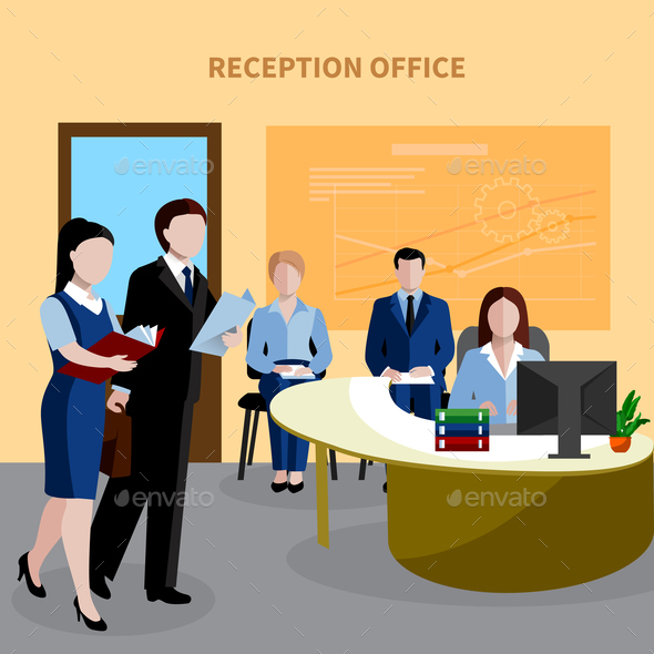Human Resources Background - Business Conceptual