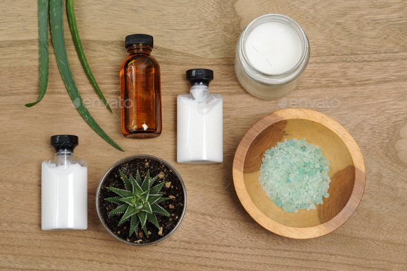 natural bodycare products - Stock Photo - Images