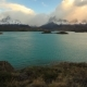 Lake Pehoe at Dawn at Torres Del Paine in Chile - VideoHive Item for Sale