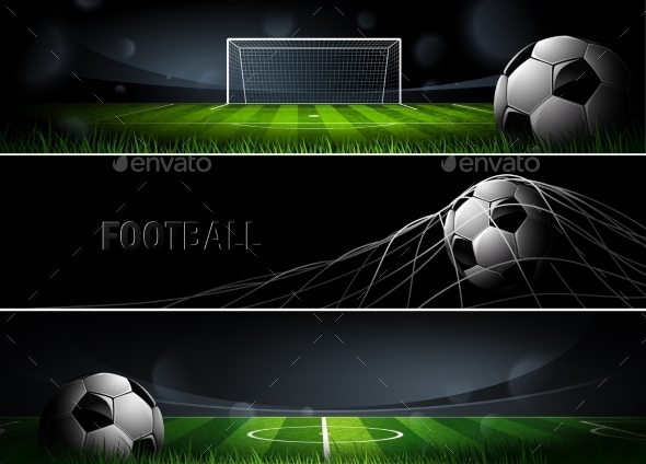 Sports Banners Vector - Sports/Activity Conceptual
