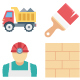 Construction Color Vector Icons Set - GraphicRiver Item for Sale