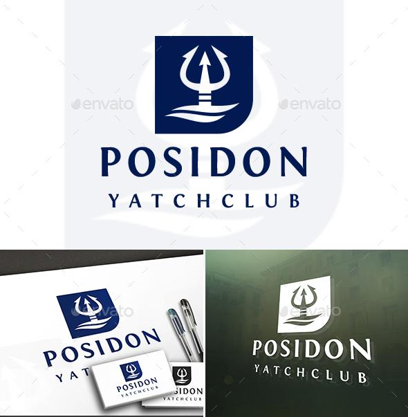 Poseidon Marine Logo - Symbols Logo Templates