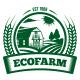 Eco Farm Crest Logo