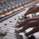 Shot of Professional Dj's Hands Working with a Recording Board in Studio - VideoHive Item for Sale