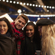 Young Friends Posing For Selfie At Christmas Market - PhotoDune Item for Sale