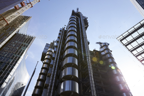 LONDON - MAY, 2017: Lloyds of London building - Stock Photo - Images