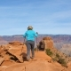 Caucasian Woman Hiker Hiking In Grand Canyon - VideoHive Item for Sale
