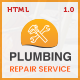 Plumbing - Plumber and Repair Services Maintenance HTML Template - ThemeForest Item for Sale