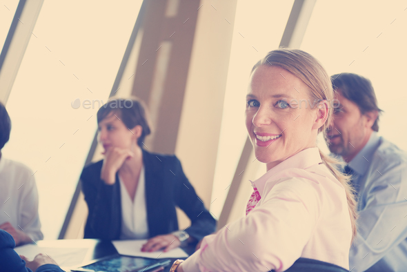 business woman on meeting - Stock Photo - Images