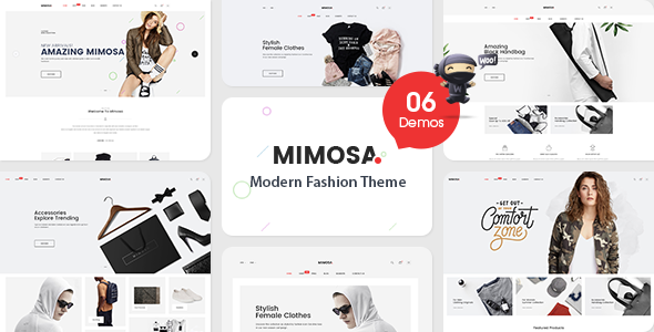 Image of VG Mimosa - Modern Fashion WooCommerce WordPress Theme
