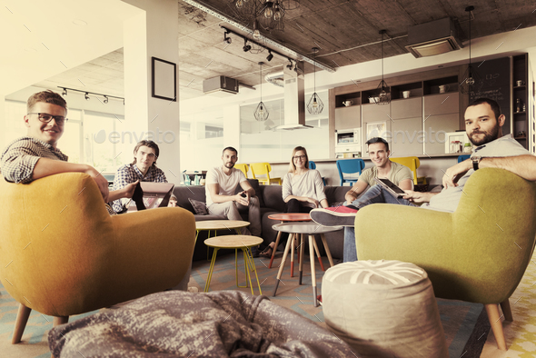 team meeting and brainstorming - Stock Photo - Images