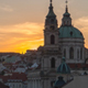 Saint Nicholas Church in Prague at Sunset - VideoHive Item for Sale