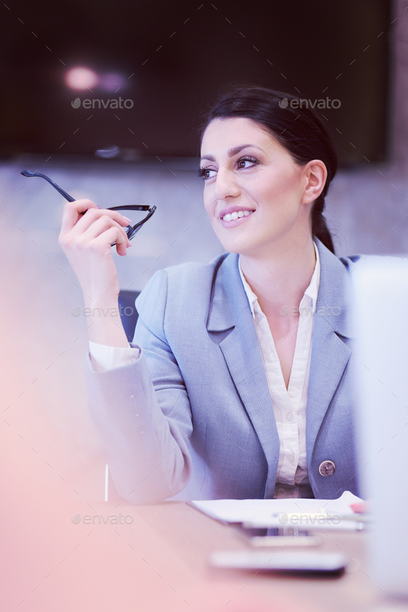 Portrait of successful Businesswoman - Stock Photo - Images