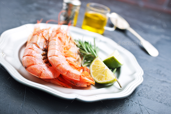 shrimps - Stock Photo - Images
