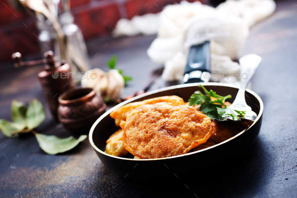 chicken cutlets - Stock Photo - Images
