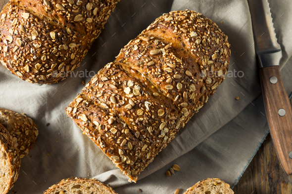 Homemade Whole Wheat Bread - Stock Photo - Images