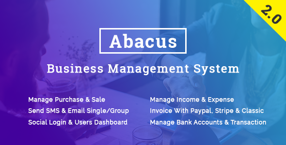 Abacus - Business Management System - CodeCanyon Item for Sale