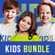 Kids T-Shirt Bundle Mockups - GraphicRiver Item for Sale