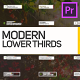 Lower Thirds for Premiere Pro | Essential Graphics - VideoHive Item for Sale