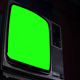 Vintage Television Green Screen. Retro Style. - VideoHive Item for Sale
