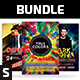 Party Flyer Bundle Vol.102 - GraphicRiver Item for Sale
