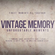 Vintage Memory - VideoHive Item for Sale
