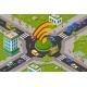 Smart City Traffic and Wifi on Crossroad Isometric