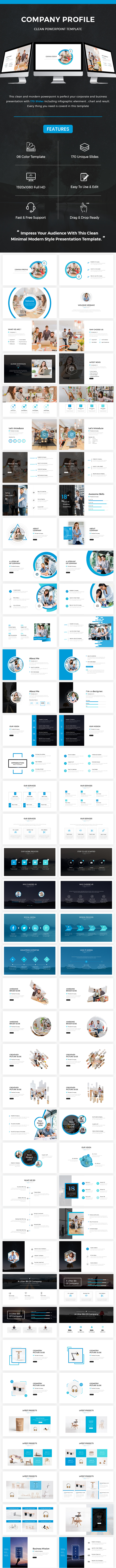 Company Profile Powerpoint Template 2018 - Business PowerPoint Templates