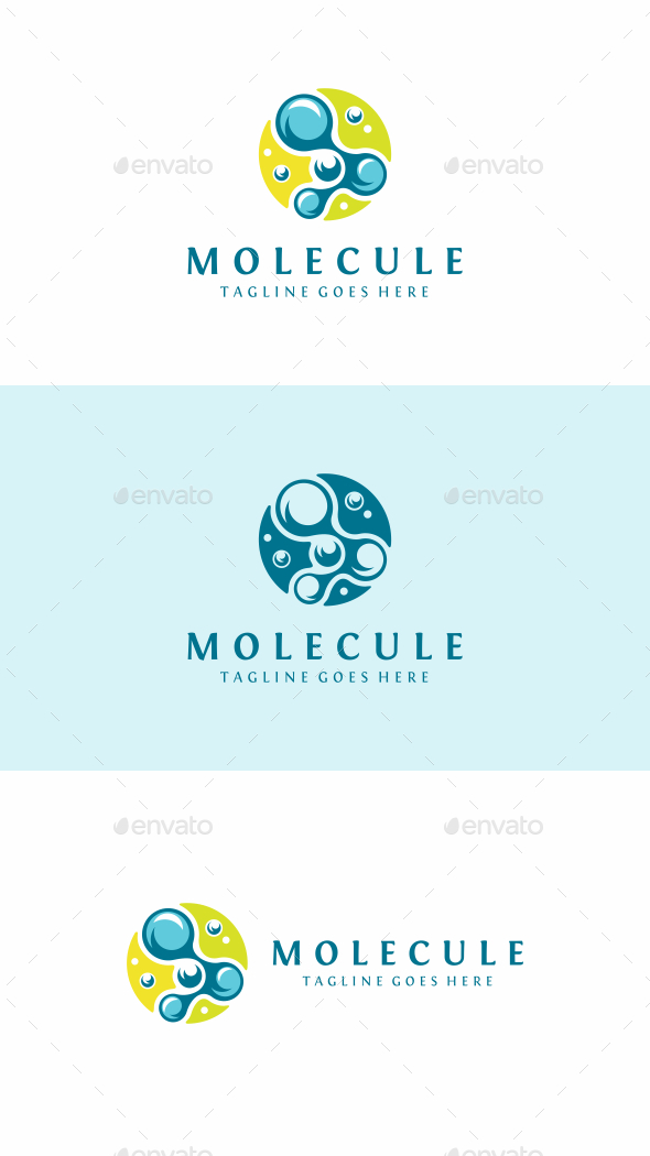 Molecule - Abstract Logo Templates