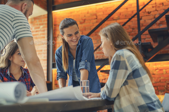 People in workplace - Stock Photo - Images
