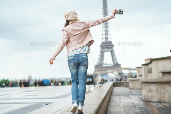 Photographer on vacation - Stock Photo - Images