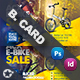 Bicycle Sales Business Card Templates