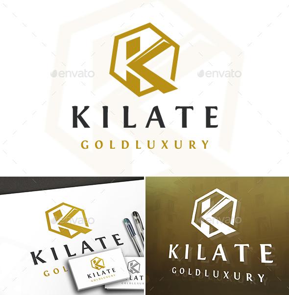 Luxury K Letter Logo - Letters Logo Templates