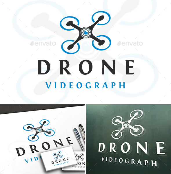 Drone Logo Template - Objects Logo Templates