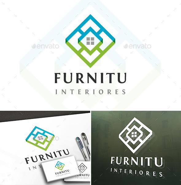 Furniture Studio Logo - Buildings Logo Templates
