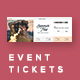 Event Tickets Template 32 - GraphicRiver Item for Sale
