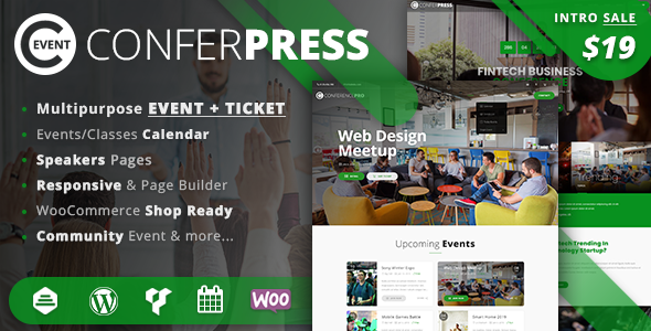 Event Tickets WordPress Theme