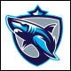 Shark Crest Logo Template - GraphicRiver Item for Sale
