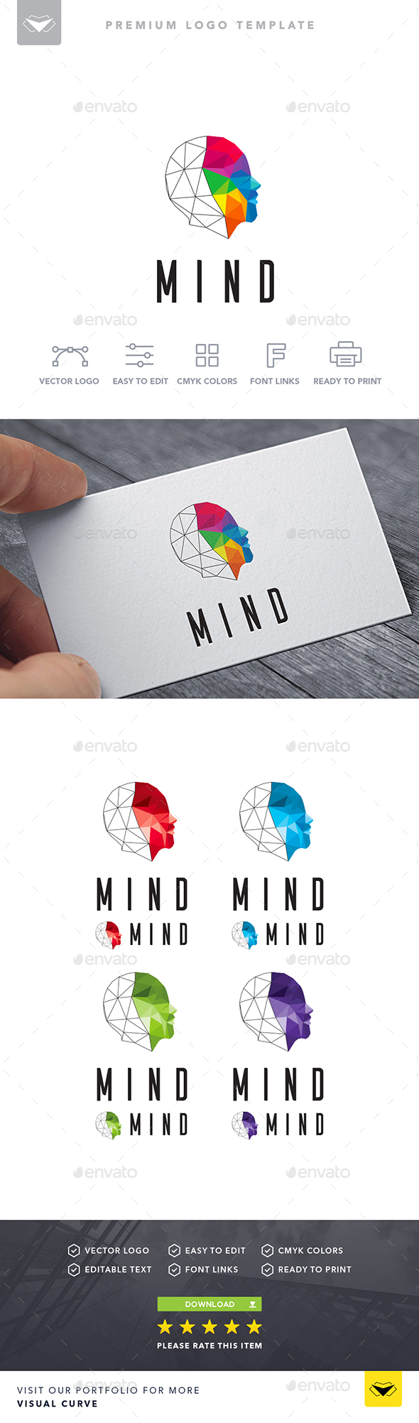 Mind Logo - Logo Templates