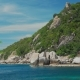 Tanote Bay on Sunny Day. Blue Bay and Huge Granite Rocks. Koh Tao, Thailand - VideoHive Item for Sale