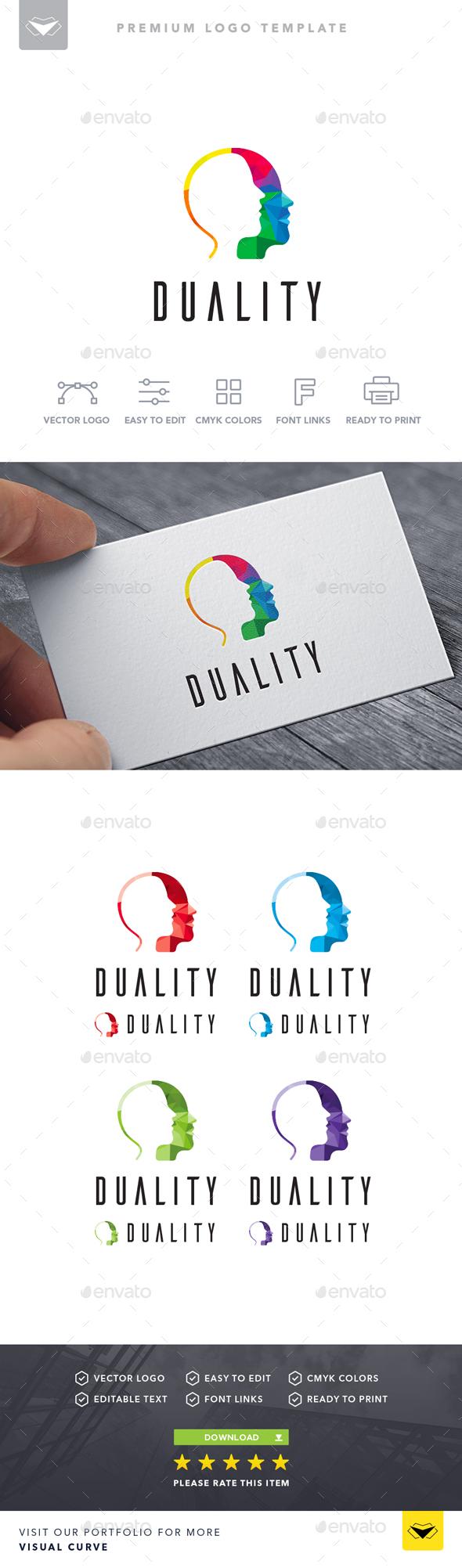 Duality Logo - Logo Templates