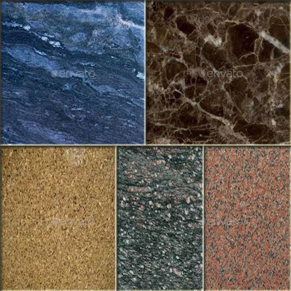 Original Floor Tile - Granite Texture Vol.2 - 3DOcean Item for Sale