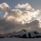 Winter  Mountain and Clouds - VideoHive Item for Sale