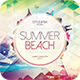 Summer Beach CD Cover Artwork - GraphicRiver Item for Sale