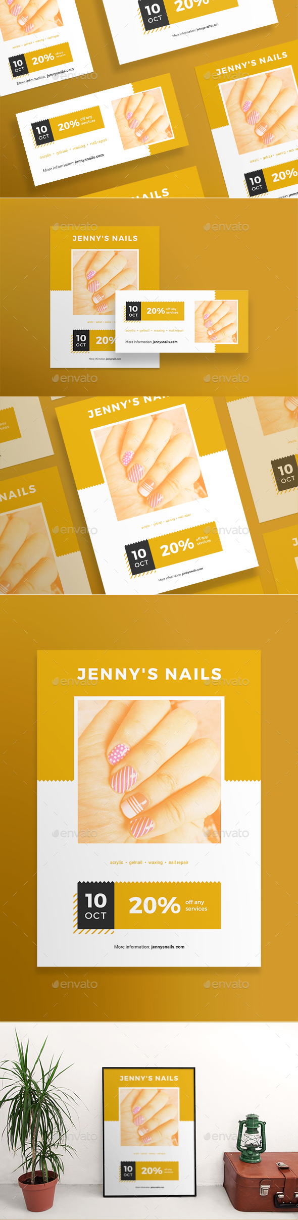 Nail Salon Flyers - Corporate Flyers